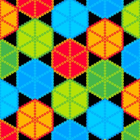 Shibori (Coloured) fabric by nekineko on Spoonflower - custom fabric