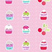 cupcakes on sparkles