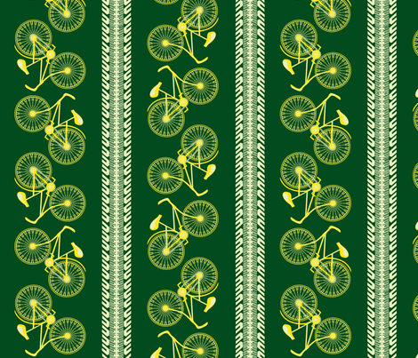 I want to ride my bicycle dandelion fabric by glimmericks on Spoonflower - custom fabric
