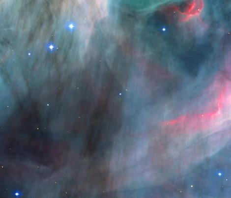 HST---ACS---M17-The-Omega-Nebula---Central-Region fabric by tingish on Spoonflower - custom fabric