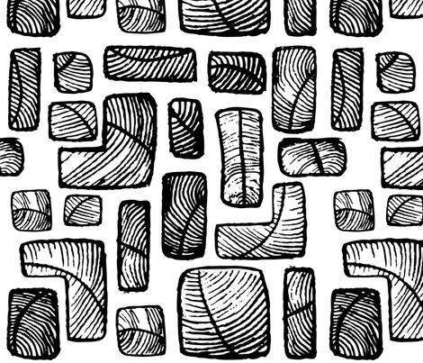 Feathers-01 fabric by daniellerenee on Spoonflower - custom fabric
