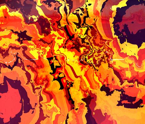 GoldenVeins fabric by k_shaynejacobson on Spoonflower - custom fabric
