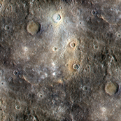 Final Frontier ~Mercury from NASA's MESSENGER Satellite