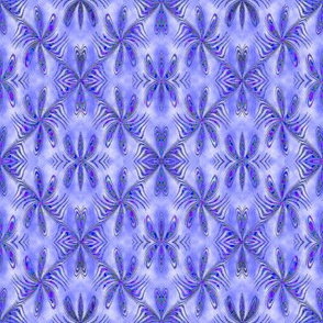 Medium Blue Spokes 8x8