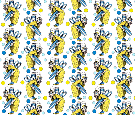 Madame Anastassie fabric by whimzwhirled on Spoonflower - custom fabric