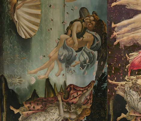 Botticelli Birth of Venus and Primavera - 47.7KB