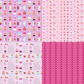 cupcake coordinates in pink