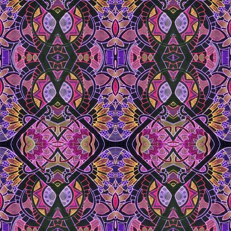 Nights of Neon fabric by edsel2084 on Spoonflower - custom fabric