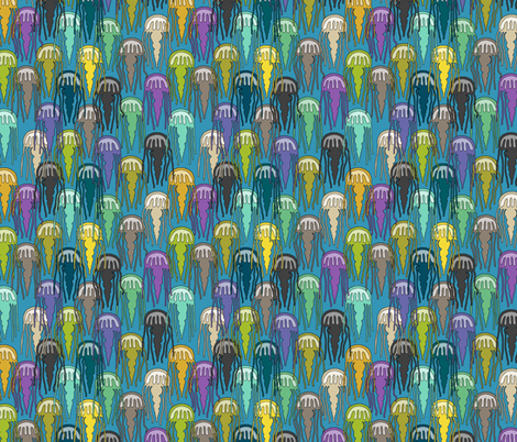 jellies of joy fabric by scrummy on Spoonflower - custom fabric