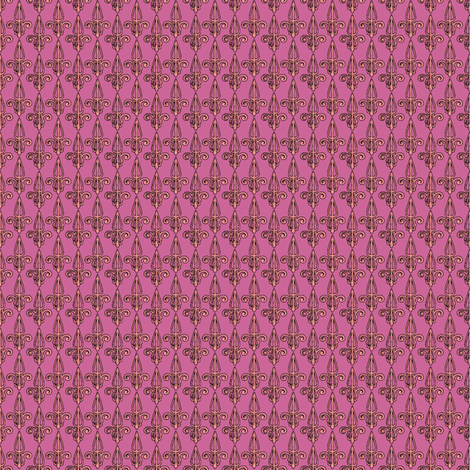 fleurdelis-pjr_princess fabric by glimmericks on Spoonflower - custom fabric