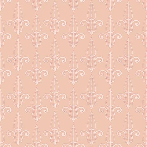 fleurdelis-pjr_shell 2 fabric by glimmericks on Spoonflower - custom fabric