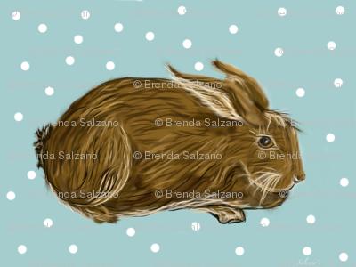 small print chocolate bunny rabbit