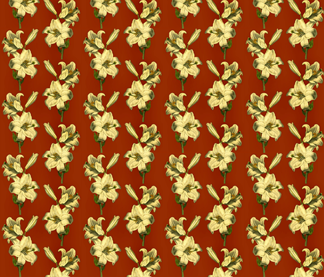 lily fabric by whimzwhirled on Spoonflower - custom fabric