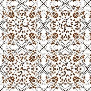 clay lattice leaf