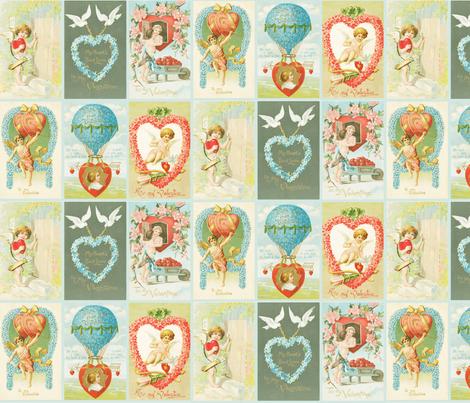 valentines fabric by natasha_k_ on Spoonflower - custom fabric