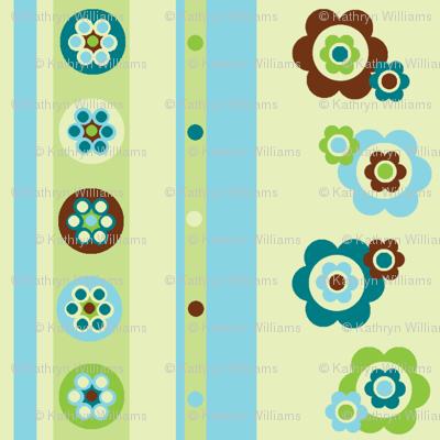 Flowers, spots, stripes, beads!