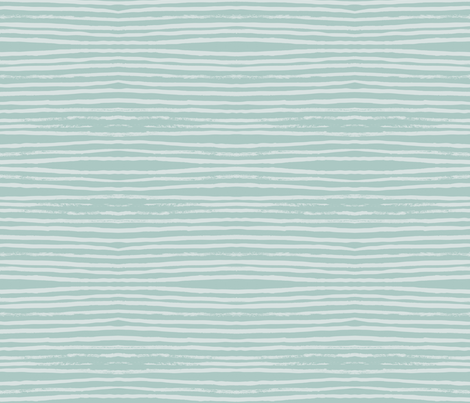 Blue on Blue Stripes fabric by weegallery on Spoonflower - custom fabric