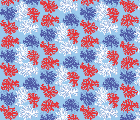 red / blue lrg print fabric by angeladesigns on Spoonflower - custom fabric