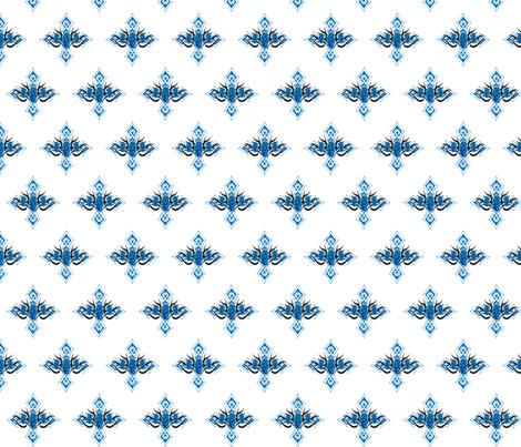 GOTHIC CROSS fabric by bluevelvet on Spoonflower - custom fabric