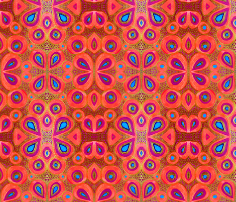 Indian Summer fabric by chandahopkins on Spoonflower - custom fabric