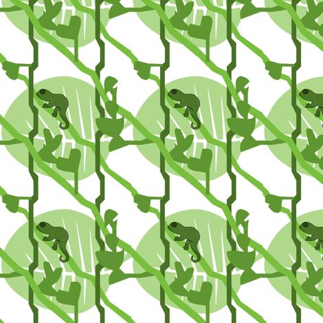 Brookesiinae Green fabric by hahma on Spoonflower - custom fabric
