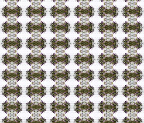 Snow Crocuses fabric by lexitage on Spoonflower - custom fabric