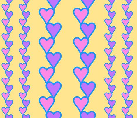 HeartsAndHeartsAn_MoreHearts1-9 fabric by grannynan on Spoonflower - custom fabric