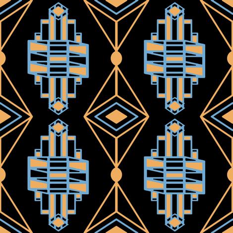 940884_rArtDecoJewelversion5_revised fabric by grannynan on Spoonflower - custom fabric