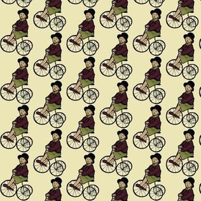 Boy on Tricycle (5 color, small size)