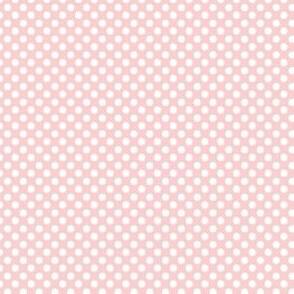 Baby Pink Polka Dots