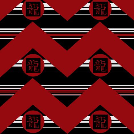 dragon fabric by paragonstudios on Spoonflower - custom fabric