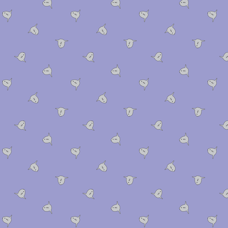 sunfish ditsy fabric by amoore7 on Spoonflower - custom fabric