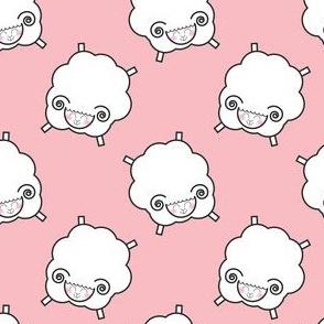 Counting Sheep - Pink
