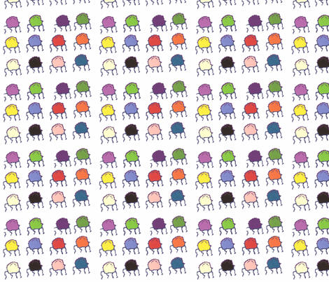 TossedJellies fabric by g_s_ on Spoonflower - custom fabric