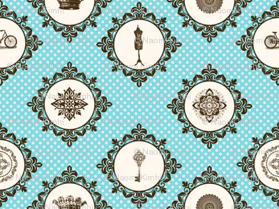 Shabby vintage Pattern
