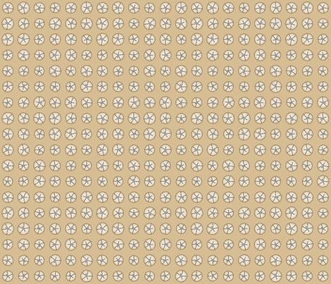 Bonaire Baby - Sanddollar Dot Beige fabric by jmckinniss on Spoonflower - custom fabric