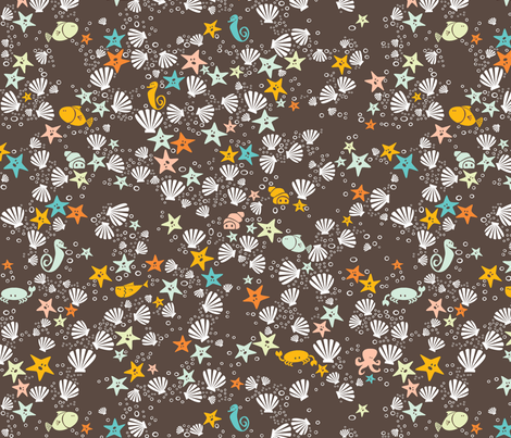 deap_sea_pattern fabric by leolietje on Spoonflower - custom fabric