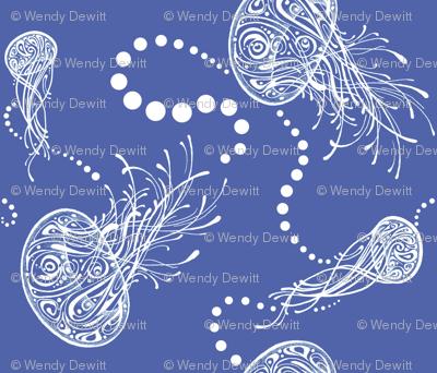 Doodled Jellyfish