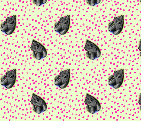 Black Beauty Brigade fabric by kiniart on Spoonflower - custom fabric