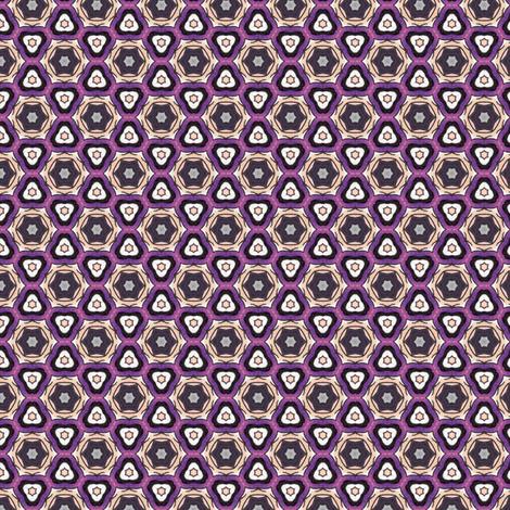Hinako's Mystic Star fabric by siya on Spoonflower - custom fabric