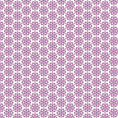 Gloria's Flower Chain fabric by siya on Spoonflower - custom fabric