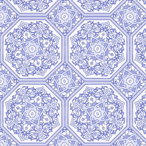 Persian Tile ~ Blue & White