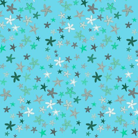 manystarfish fabric by melissssaf on Spoonflower - custom fabric