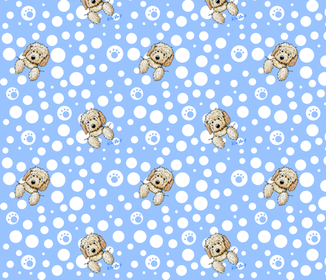 Pocket Full O' Sunshine fabric by kiniart on Spoonflower - custom fabric