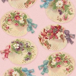 Floral Victorian Fans