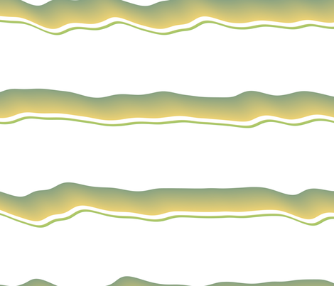 Wavy Bands 4 fabric by animotaxis on Spoonflower - custom fabric