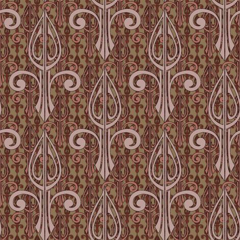fleurdelis-pjr2_triple_toast and jam fabric by glimmericks on Spoonflower - custom fabric