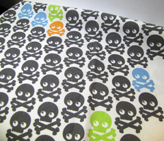 Skull Tea Towel
