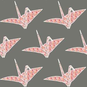 Sprinkled Origami Crane