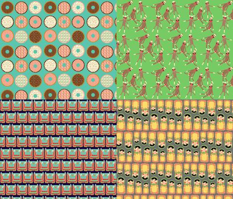 Blythe Fabric fabric by heidikenney on Spoonflower - custom fabric